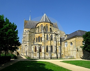 Gothic Abbey Stock Photo