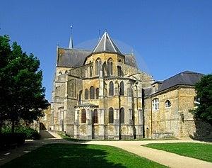 Gotische Abtei Stockfoto