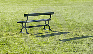 Park Bench Free Stock Photography
