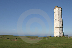Old Lighthouse Flamborough 2 Stock Images