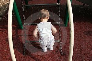 Baby Girl Thinking Free Stock Photos