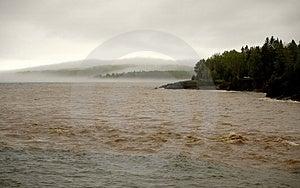 Mud, Flood And Fog Stock Photo