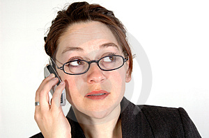 Mulher de negócio 6 Imagem de Stock Royalty Free