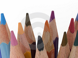 Pencil Crayons 1 Free Stock Photo