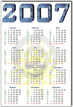 Calendario Fotografie Stock Libere da Diritti - Immagine: 1508678