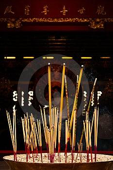 Joss Stick For Hope Stock Image - Image: 15000781