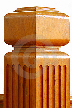 Teakwood Stake Royalty Free Stock Photo - Image: 15003055