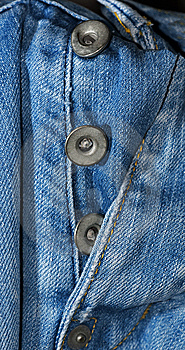 Blue Jeans Fly Stock Photo - Image: 15003630