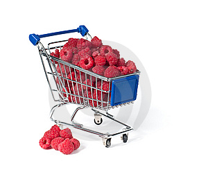 Metal Shopping Trolley Stock Photos - Image: 15005693
