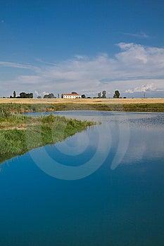 Cotorca Lake Royalty Free Stock Photography - Image: 15006207