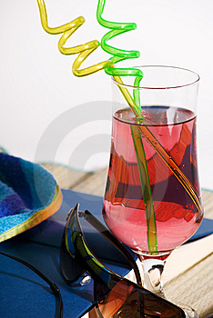 Beach Essentials Royalty Free Stock Images - Image: 15006449