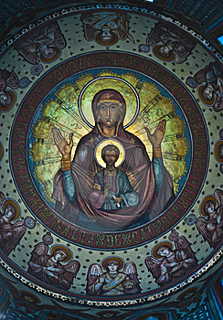 Church Paintings Royalty Free Stock Photography - Image: 15008177