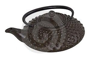 Cast Iron Tetsubin Stock Image - Image: 15009261