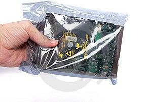 Handle Harddisk Isolated On White Stock Images - Image: 15011364