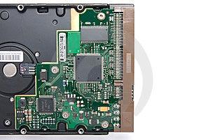 Back Side Harddisk Isolated On White Stock Photo - Image: 15011480