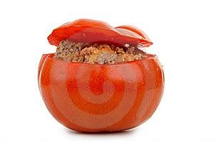 Stuffed Tomato Royalty Free Stock Photo - Image: 15013015