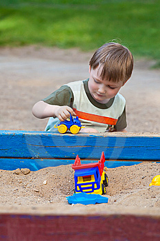 Sandbox Stock Photo - Image: 15013720