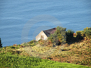 Small Cottage Near The Sea Stock Photos - Image: 15015213
