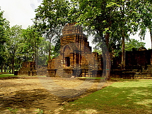 Temple De Khmer De Muang Singh Photo stock - Image: 15019420
