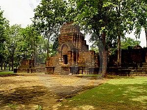 De Khmer Tempel Van Singh Van Muang Stock Foto - Afbeelding: 15019420