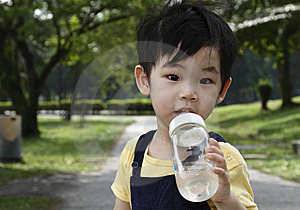Cute Asian Young Boy Stock Photos - Image: 15019423