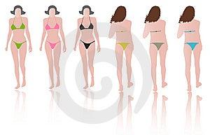 Fashion Models With Bikinis On Runway Stock Photos - Image: 15023123