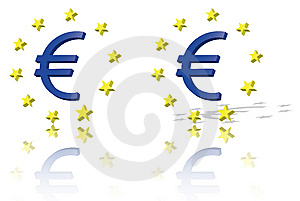Euro Symbol, European Union Unit Of Currency Royalty Free Stock Photography - Image: 15023127