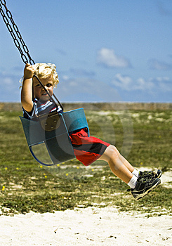 On The Swing Royalty Free Stock Photo - Image: 15024675