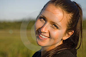 College Age Happy Female Student Stock Photos - Image: 15024803