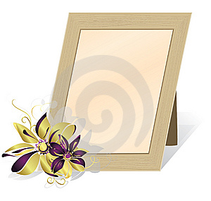 Framework For The Photos. Eps10 Royalty Free Stock Photo - Image: 15027025