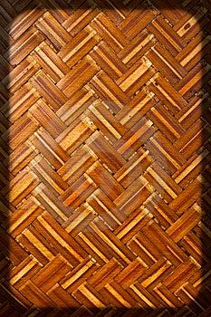 Weave Bamboo Stock Image - Image: 15028571