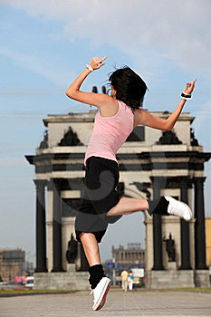 Woman Modern Ballet Dancer Royalty Free Stock Photos - Image: 15028628