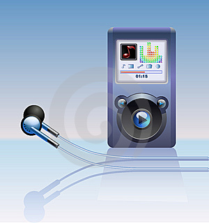 Mp3 Player Royalty Free Stock Images - Image: 15029169