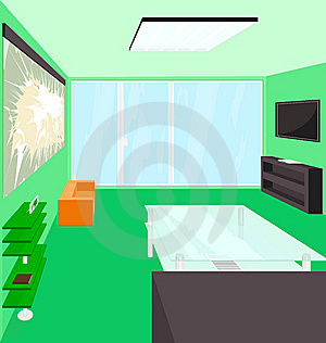 Living Room Royalty Free Stock Photography - Image: 15030507