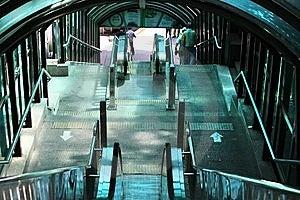 Ladder To Yandusan Park Conducting Downwards Royalty Free Stock Photo - Image: 15030705