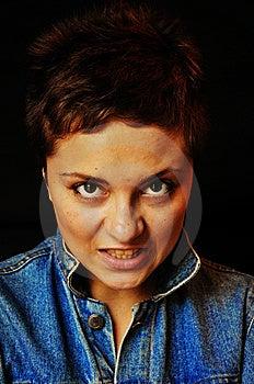 Angry Woman Stock Photography - Image: 15030732