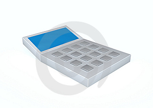 Calculator Stock Image - Image: 15032301
