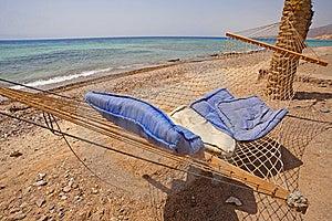 Hammock On A Tropical Beach Stock Photography - Image: 15034572