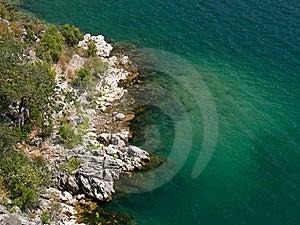 ακτή δύσκολη Στοκ Εικόνες - εικόνα: 15035940