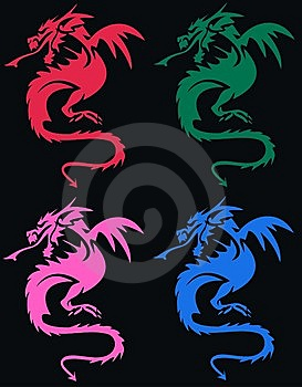 Dragoon Pattern Royalty Free Stock Images - Image: 15036519