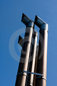 Exhaust Pipes Stock Image - Image: 15039601