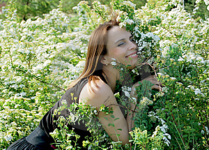A Beautiful Girl Royalty Free Stock Photos - Image: 15041038