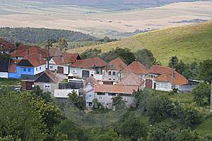 Mountain Village On Hill Top Stock Image - Image: 15045671