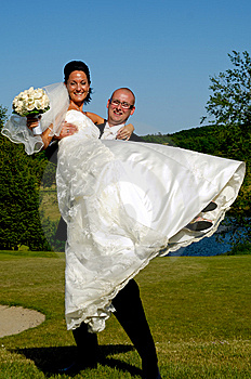 Bride And Groom Stock Image - Image: 15046841