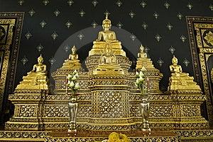 Five Buddha Stock Images - Image: 15047684
