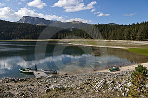 View Of Lake With Heaven Reflection Stock Photography - Image: 15052502