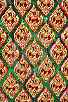 Traditional Thai Style Art Pattern Royalty Free Stock Photography - Image: 15055207