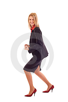 Very Excited Business Woman Stock Images - Image: 15057284