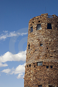Desert View Watchtower Royalty Free Stock Images - Image: 15064279