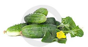 Cucumbers Royalty Free Stock Photos - Image: 15066218
